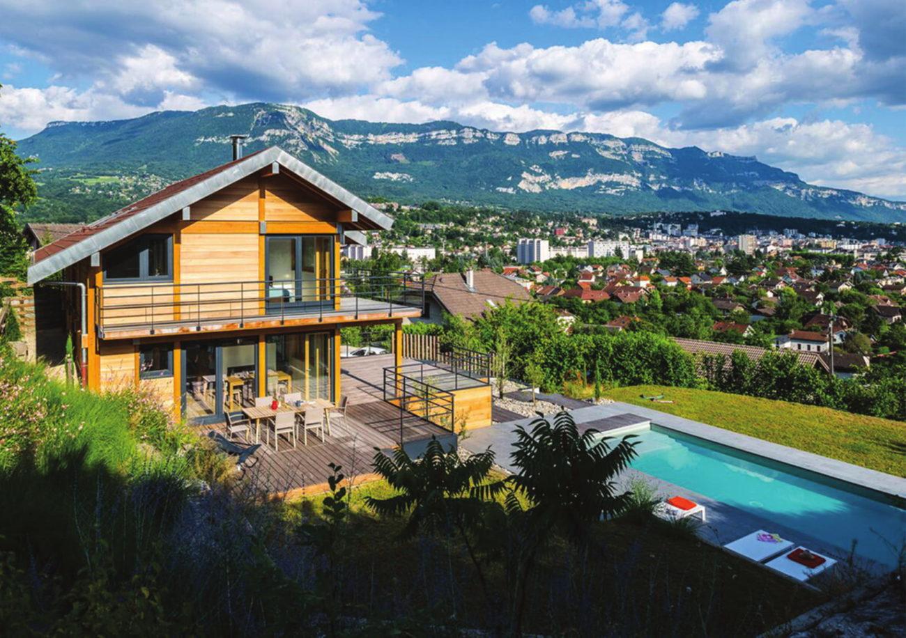 Mélange de matériaux naturels à Aix-Les-Bains…