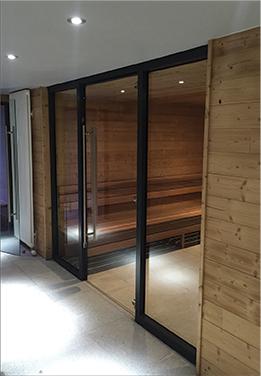 Sauna intégré