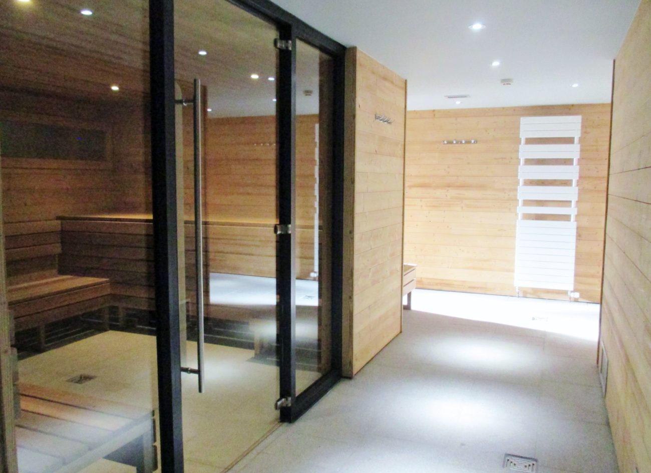 Sauna au VAL2400