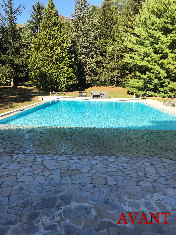 Grande piscine à débordement.-8