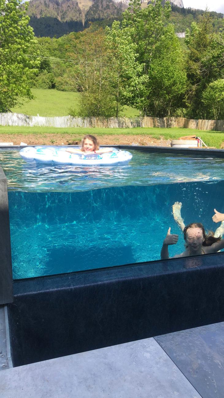 Une piscine atypique